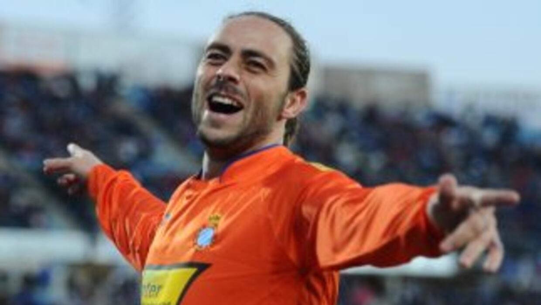 García ha vuelto a jugar como punta en la actual era de Aguirre, pues co...