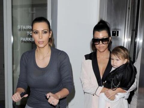 Kim, Kourtney, Penelope y North salieron de paseo. Mira aquí los...