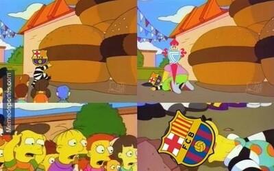 Los memes no pudieron faltar tras la derrota que sufrió el Barcelona ant...