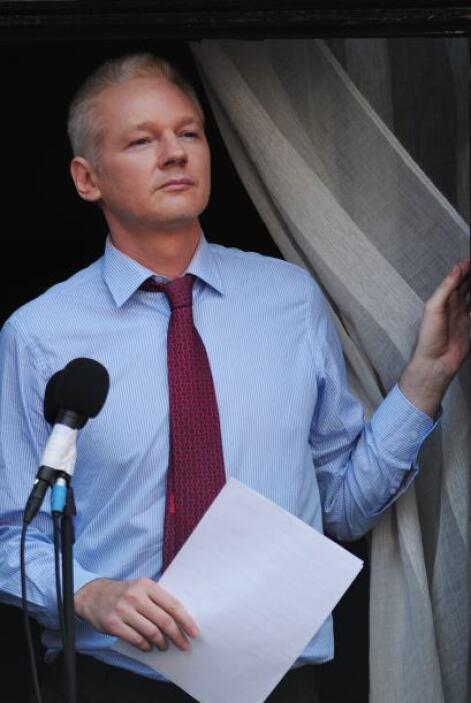 19 de junio. El periodista australiano Julian Assange, fundador del siti...