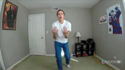 Un joven bailó la misma coreografía por más de 100 días y lo grabó
