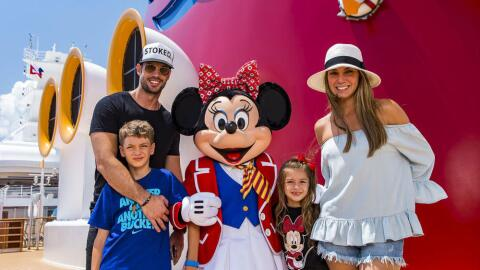 William Levy de vacaciones con su familia.