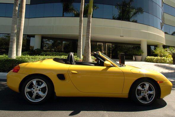 El modelo más económico de la marca Porsche, es el Boxster. En su versió...