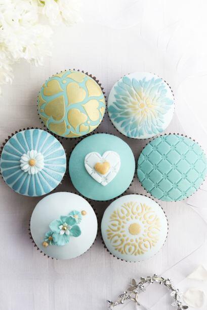 Los 'cupcakes' individuales están muy 'trending'.