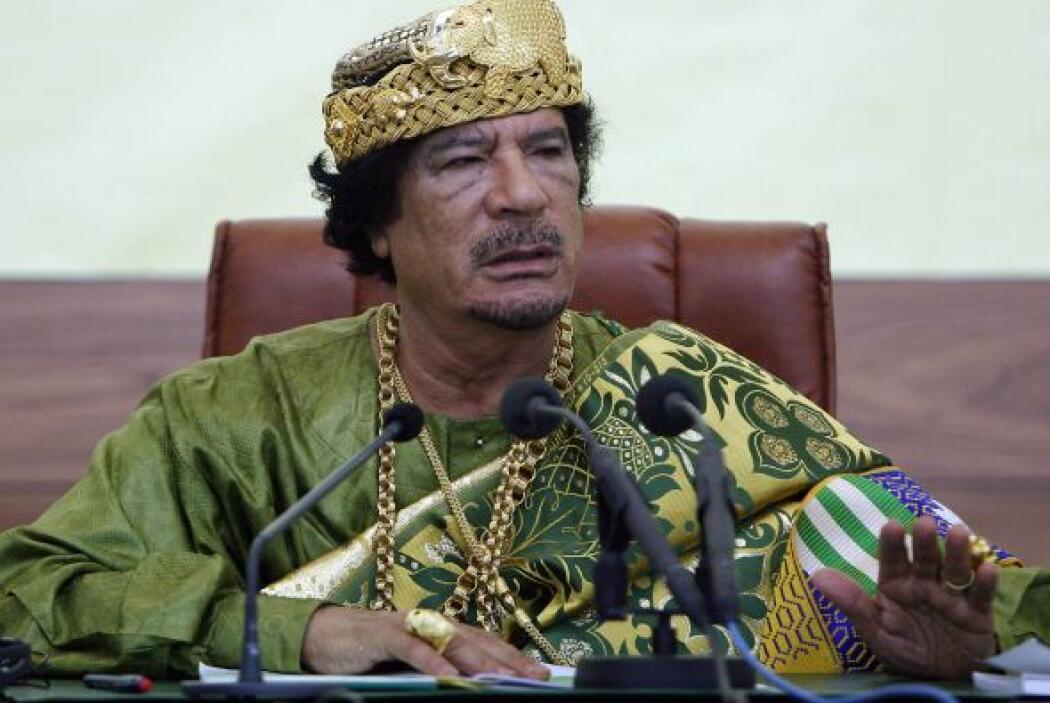 Entre las propiedades de Gadafi también estuvo el 7.5% del equipo de fut...