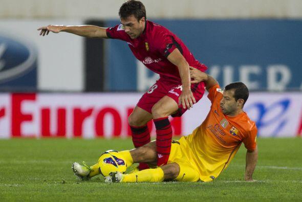 Más tarde se marcó un penalti y Víctor Casadesús se encargó de convertir...