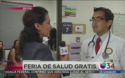 Feria de salud gratuita en Gardena