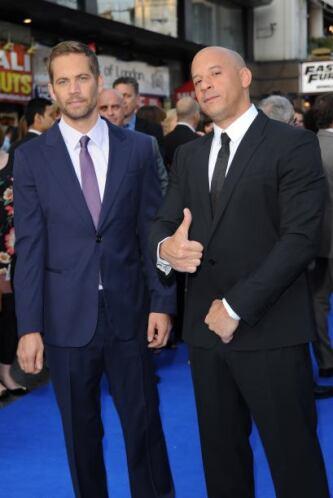 Por supuesto que Vin Diesel, protagonista con Paul Walker de la franquic...