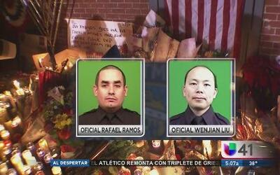 Vigilia para honrar a policías caídos