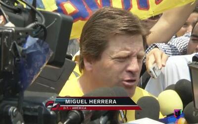 Miguel Herrera: ´Lo llamo el clásico peligroso´