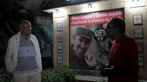 Los cubanos salieron a las calles tan pronto se hizo pública la n...