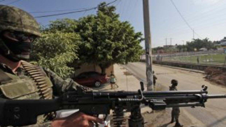 Cuatro hombres fueron arrestados en el estado de Guerrero, sur de México...