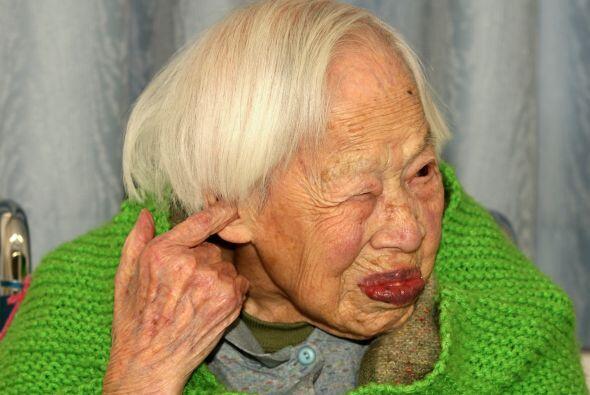 Es viuda desde hace 83 años y conserva una vitalidad única.