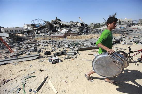 El crimen fue atribuido a militantes de Hamas, un movimiento radical pal...