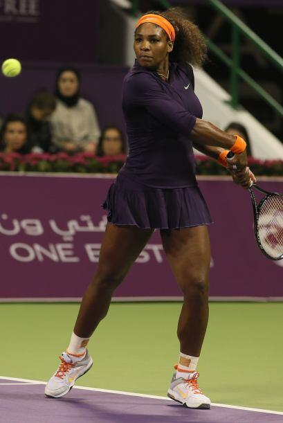 La actual número uno del mundo, la tenista estadounidense Serena Williams.