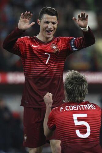 Cristiano Ronaldo:Su calidad y habilidades han hecho que Portugal ponga...