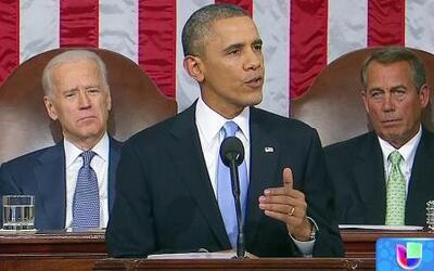 Breve mención del tema migratorio durante el discurso sobre el Estado de...