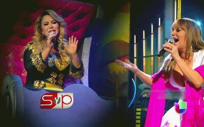 Jenni Rivera estuvo junto a Chiquis antes, durante y después de Premios...