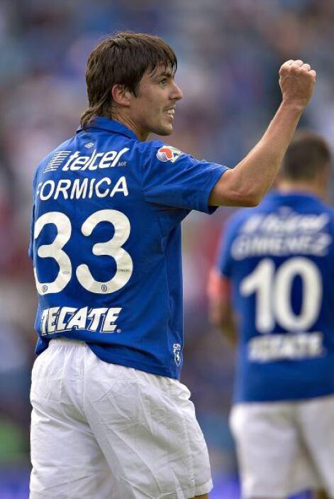 Mauro Formica fue sumamente importante para el liderato de Cruz Azul en...