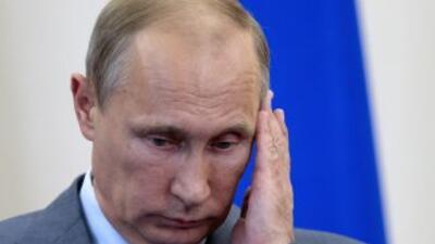 El presidente de Rusia,Vladimir Putin.
