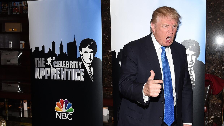 Donald Trump aprendió a manejar a su audiencia en parte gracias a su for...