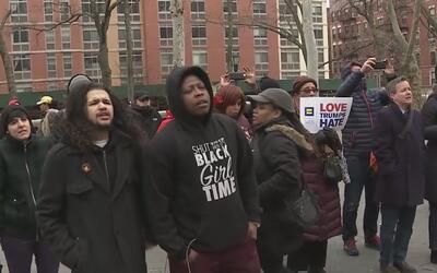 Comunidad transgénero en Harlem se manifiesta en contra de los crímenes...