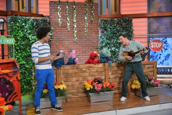 Raúl puso a bailar y cantar a nuestros amigos.