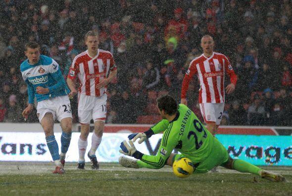 Otro de los resultados sorpresivos fue la derrota del Stoke City.