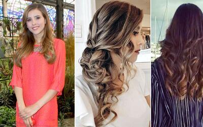 Paulina Goto peinados