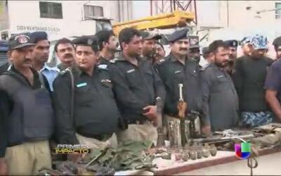 Terroristas del Talibán se responsabilizaron del ataque en el aeropuerto...