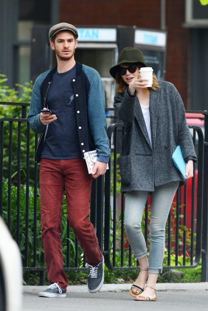 Emma Stone y su novio Andrew Garfield son de las parejas más 'hot' del m...