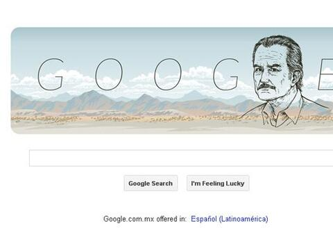 Google celebra los 85 años del nacimiento del autor mexicano con un Dood...