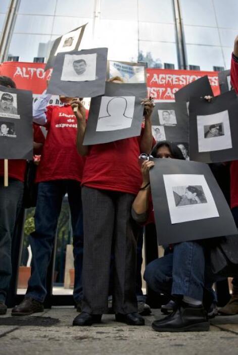 Es el caso de María Esther, una de los cuatro periodistas desaparecidos...