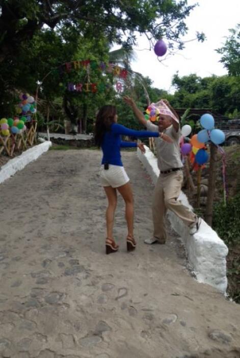 Después de ganar Nuestra Belleza Latina 2013, decidió regresar a casa pa...