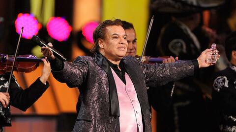 'Juan Ga' durante su presentación en los premios GRAMMY latinos e...