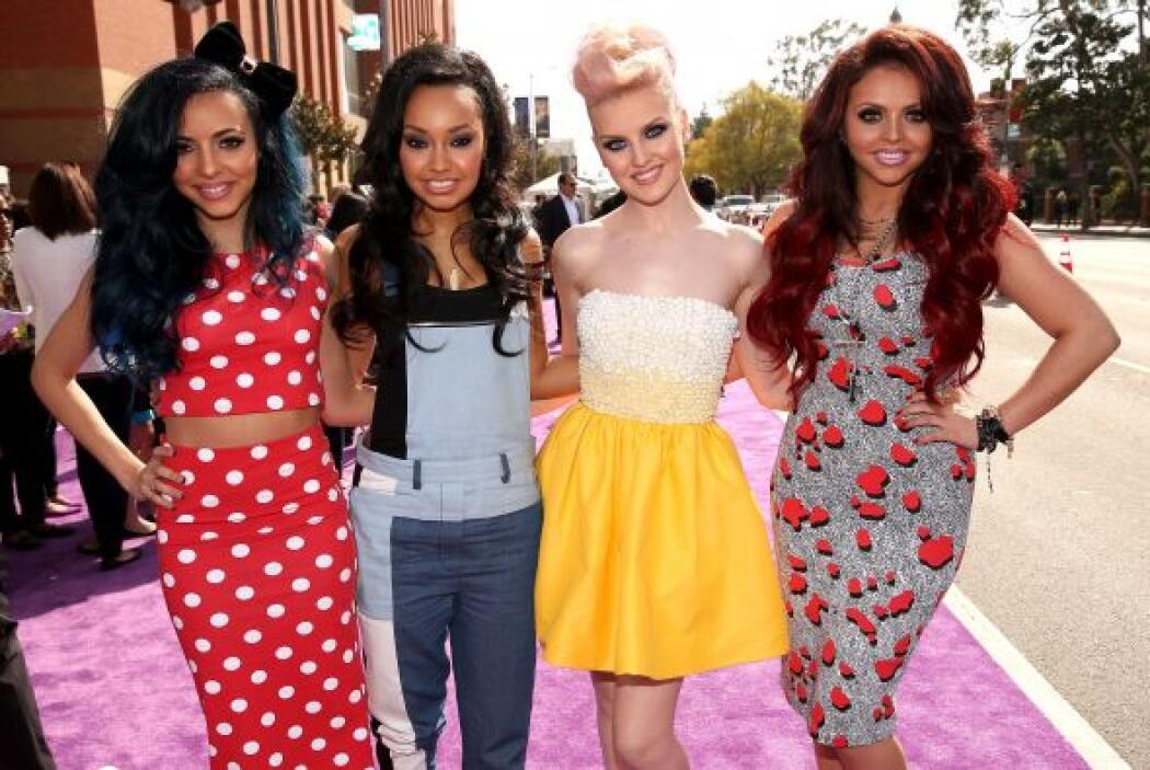 Las integrantes de 'Little Mix' sí que hicieron una mezcla de todo, desd...
