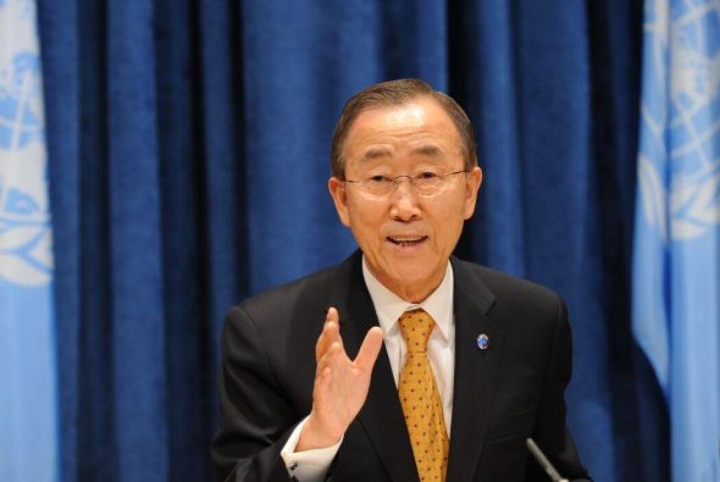 Mientras el secretario General de la ONU, Ban Ki-Moon, pidió a la comuni...