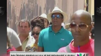 Investigan a Beyoncé y su esposo Jay Z por viaje a Cuba