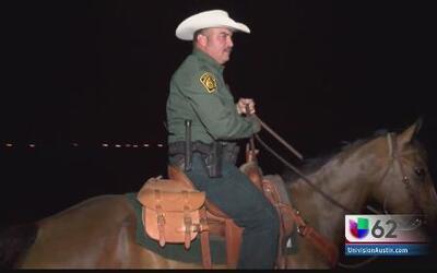 Caballos, una parte integral de la patrulla fronteriza