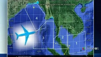 La compañía GeoResonance encontró posibles restos del avión perdido