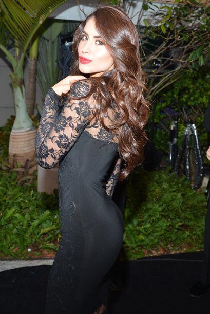 La hermosa Jessica nos muestra su belleza.