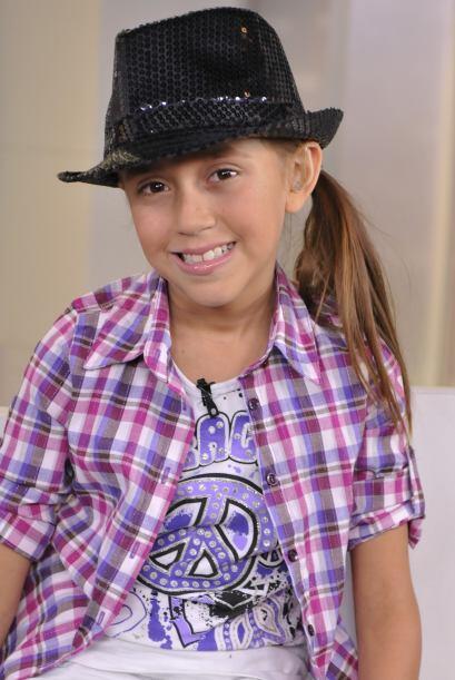 Joselyn, la cantante de Los Súper Peques, llegó a Despierta América.