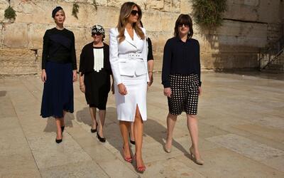 Moda y estilo de Ivanka y Melania Trump en la gira internacional, sensac...
