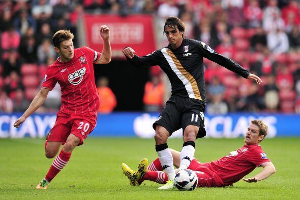 Southampton fue local en el duelo que tuvo ante el Fulham.