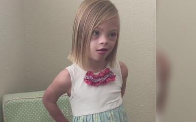 Te conmoverás con el mensaje que envió esta niña con síndrome de Down po...