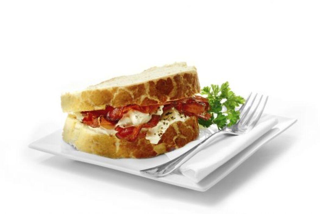 Sándwich empaquetado Conforme al mismo sitio, la mayor parte de sándwich...