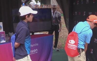 Golfistas latinos en el Valero Texas Open