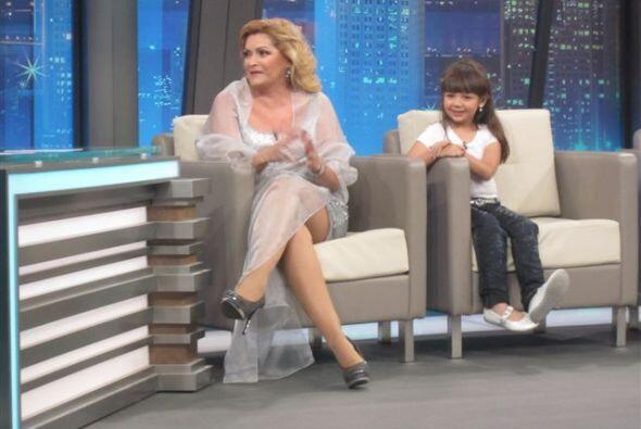 Al show también llegó Rocío Banquells, quien dio vi...