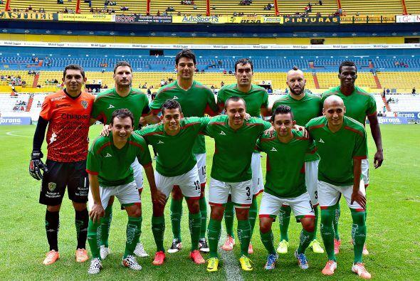 Chiapas no tiene título en primera división.