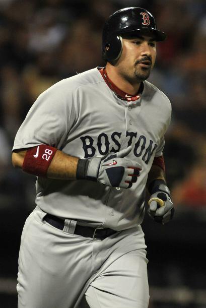 1B. Adrián González. Medias Rojas de Boston. Una vez m&aac...